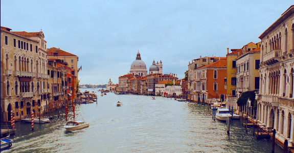 Santa Maria della Salute on the Canal