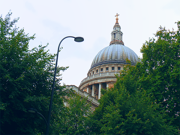 St. Paul's, a beautiful cathedral with a storied history