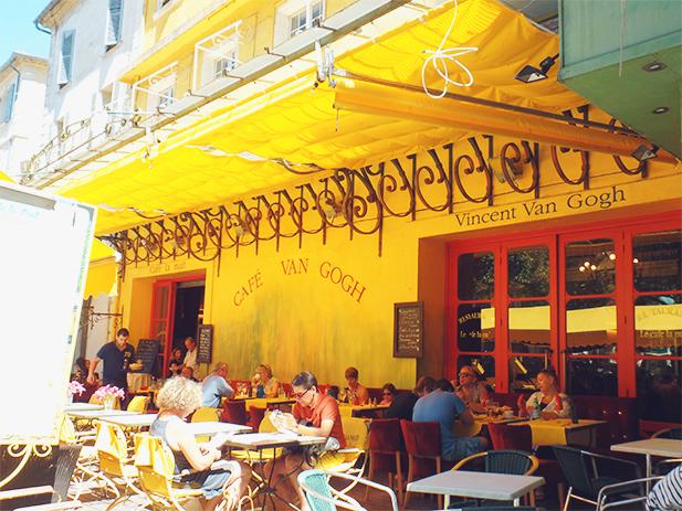 Café Van Gogh in Arles, France