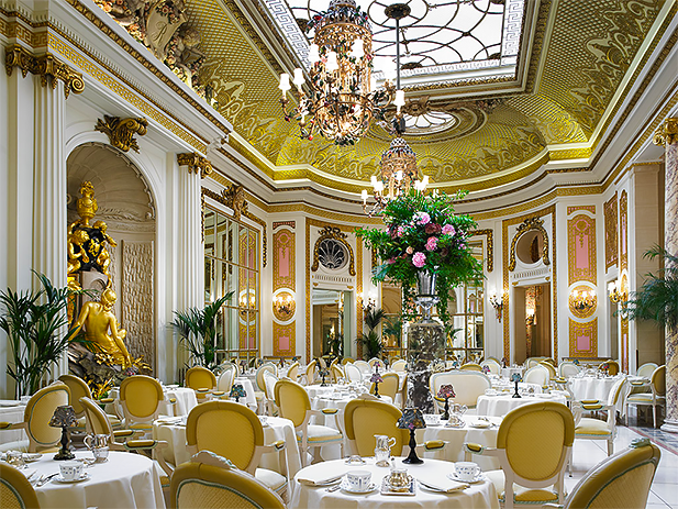 Palm Court at the Ritz London. Photo credit: theritzlondon.com