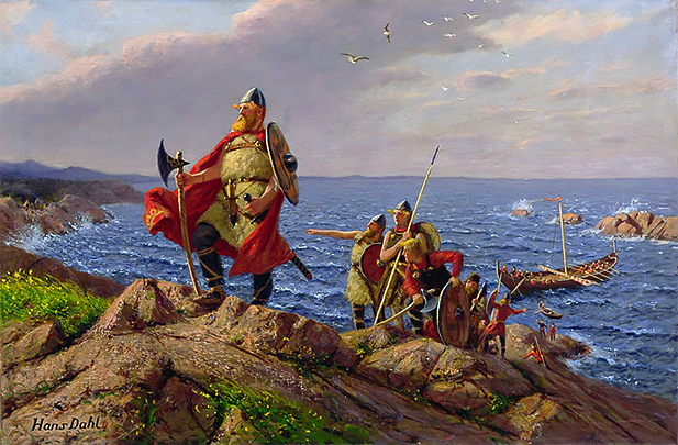 Leif Erikson, the historic Norse explorer. Photo credit: DK Find Out