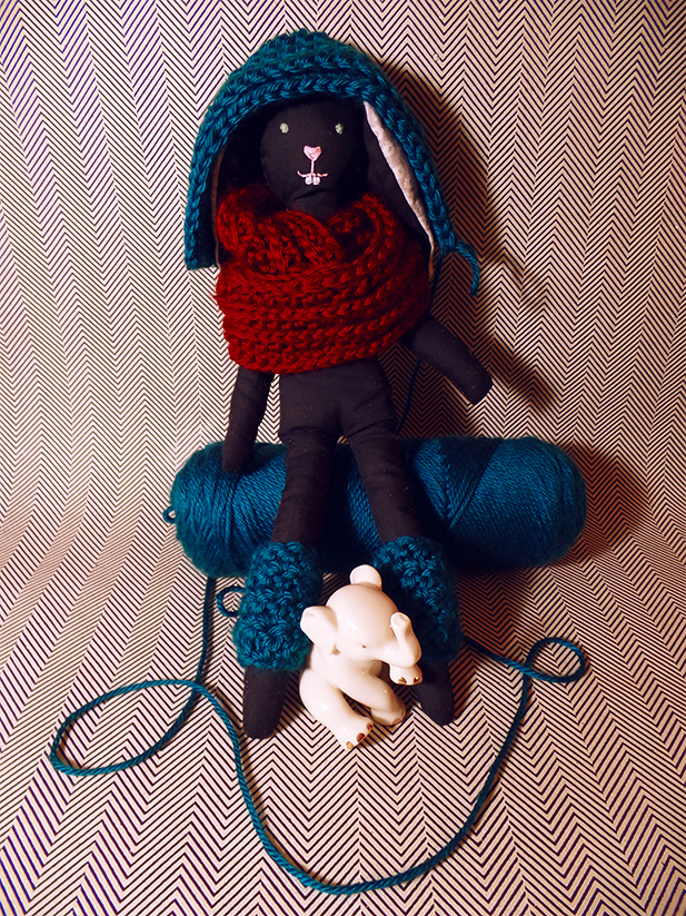 DIY doll and crochet