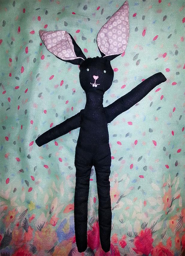 DIY bunny doll