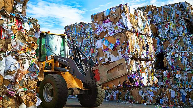 Swedish landfill