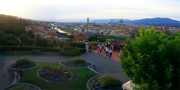 View of Florence from Michelangelo Square